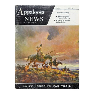 June 1967 Appaloosa News Magazine For Sale