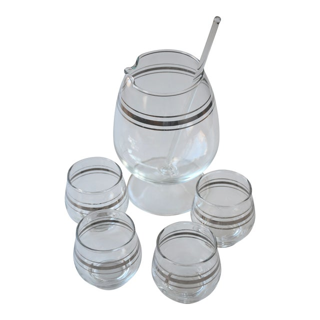 Dorothy Thorpe Style Cocktail Set - Set of 6 For Sale