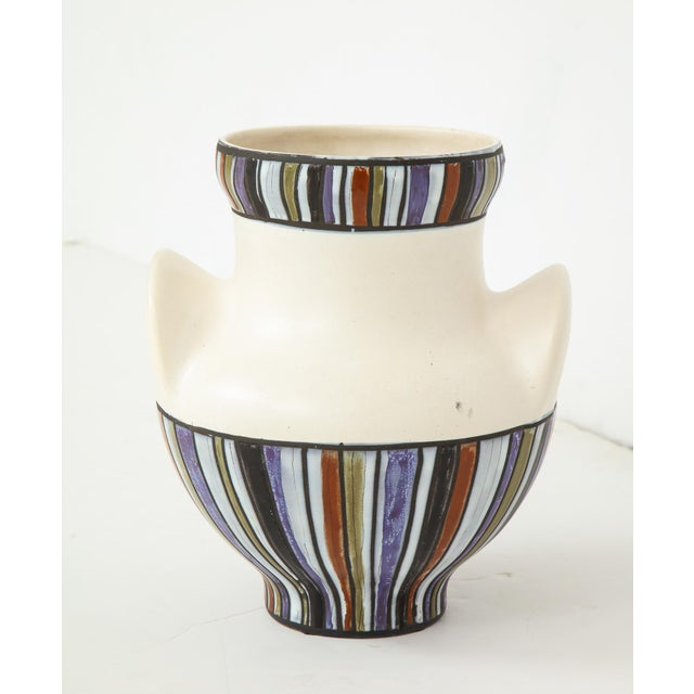 Large Roger Capron Oreilles Vase For Sale In New York - Image 6 of 12