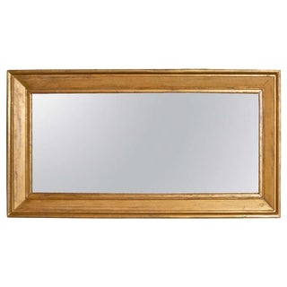 Large Gold Gilt mirror For Sale