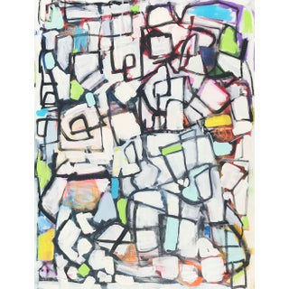 """Sarah Trundl """"Possibilities Endless"""", Contemporary Abstract Painting For Sale"""