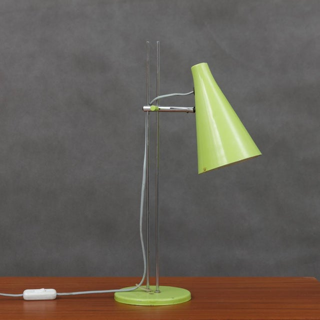 Green Josef Hurka Lidokov L194 Green Desk Lamp For Sale - Image 8 of 8