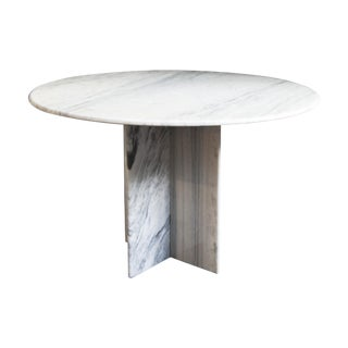 Arabescus White Marble Dining Table