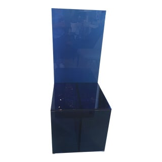 Deep Blue Merci Bob Glas Italia Chair For Sale