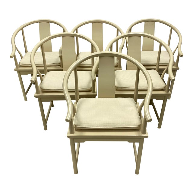 Ming Style Dining Chairs by Baker Furniture - Set of 6 For Sale