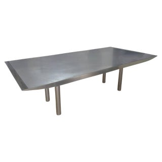 Steel Brueton Dining Room Table
