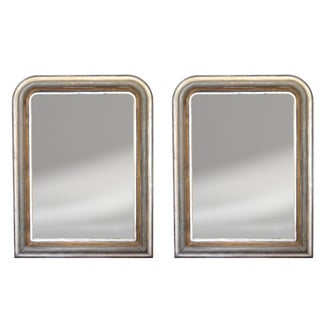19th Century French Louis Philippe Mirrors - a Pair