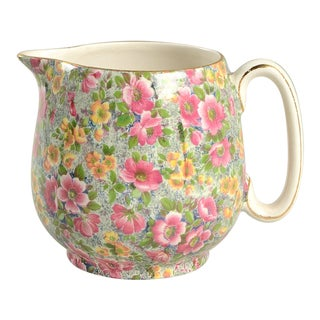 Lord Nelson Briar Rose Chintz 23 Oz Jug For Sale