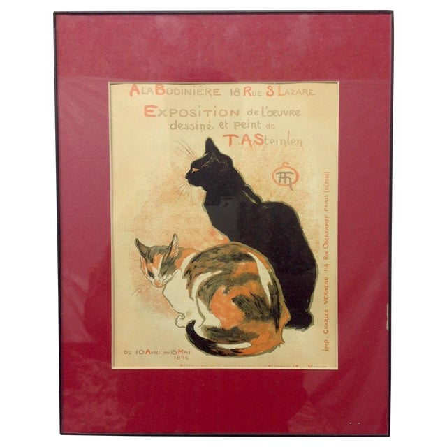 T. A. Steinlen French Exposition Poster - Image 1 of 3