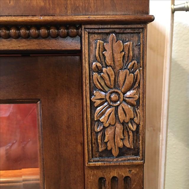 Henley Cherry Sliding Door Book Case - Image 10 of 11