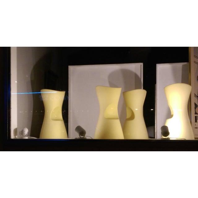 Yellow Skoop Stools by Karim Rashid - Set of 4 For Sale In Miami - Image 6 of 11