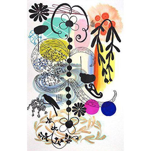 "Karen Combs ""French Dot"" Print - Image 1 of 2"