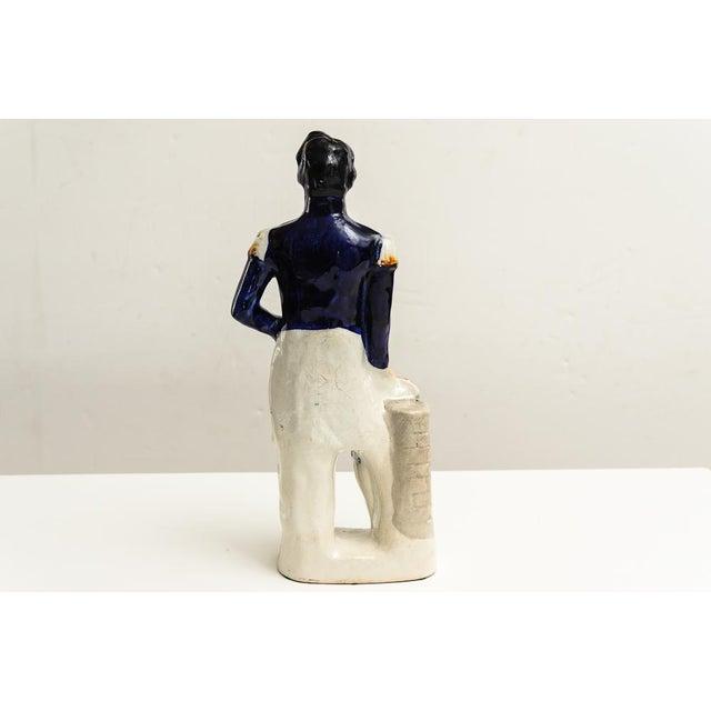 """C.1860 """"Louis Napoleon"""". Staffordshire porcelain figure"""
