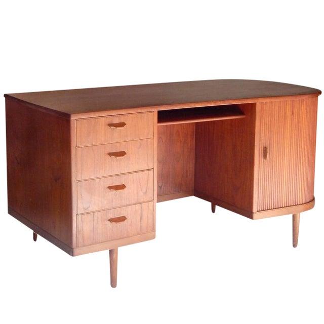 """Perfect Scandinavian """"Mad-Men"""" Desk - Image 1 of 10"""