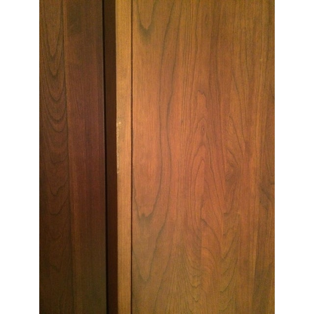 Ethan Allen Cherry Wood Armoire - Image 8 of 10