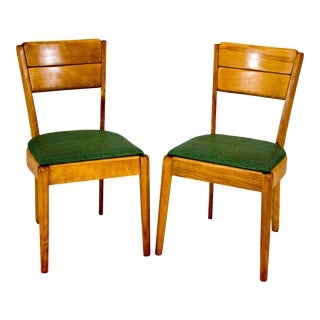 Heywood Wakefield C3700 Dining Chairs - a Pair For Sale