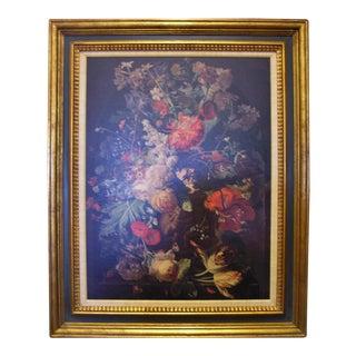 Vintage Floral Still Life Print by Jan Van Huysum For Sale