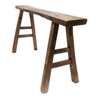 Skinny Rustic Bench For Sale