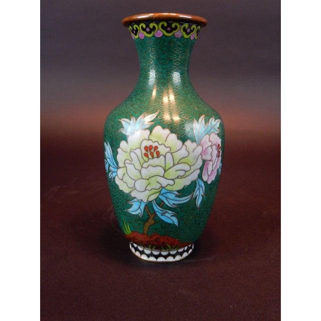 Chinese Cloisonn Vase Chairish