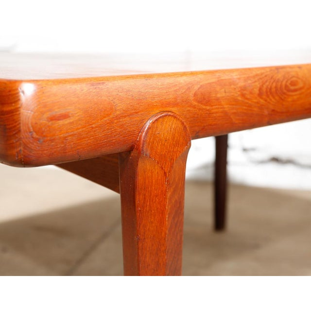 Danish Modern Dining Table - Image 7 of 11