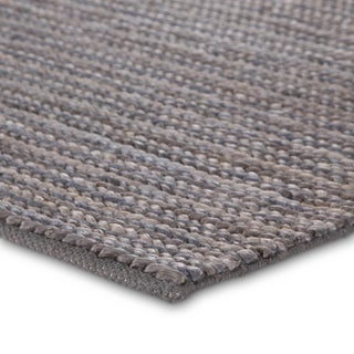 Jaipur Living Aleah Natural Solid Gray Area Rug - 9'x12' Preview