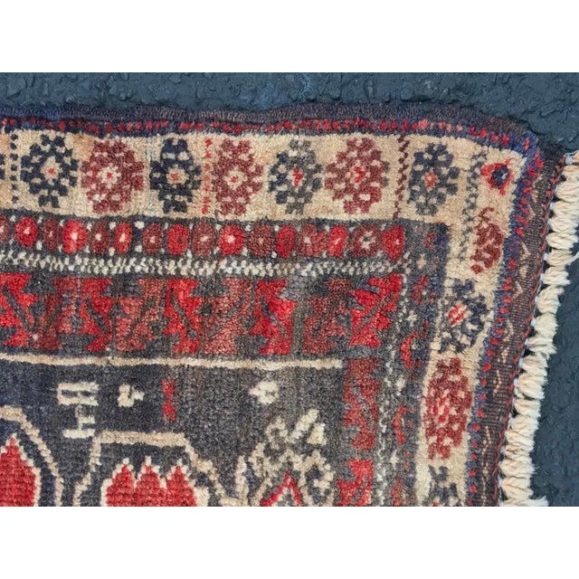 "Vintage Persian Baluchi Rug - 2'6""x3'5"" - Image 9 of 11"