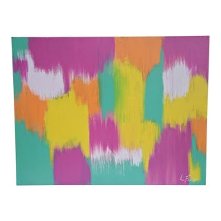 Large Scale Original Abstract Painting Signed For Sale