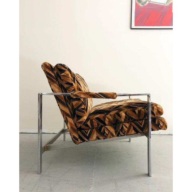 Mid-Century Modern Mid Century Modern Milo Baughman Lounge Chair For Sale - Image 3 of 7