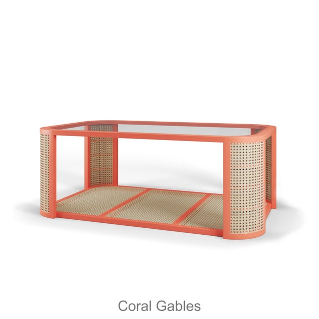 Contemporary Lola Coffee Table - Coral Gables For Sale - Image 3 of 3