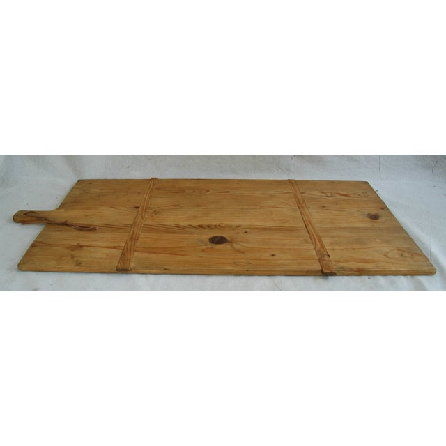 1920s Large French Harvest Bread Cheese Board - Image 5 of 8