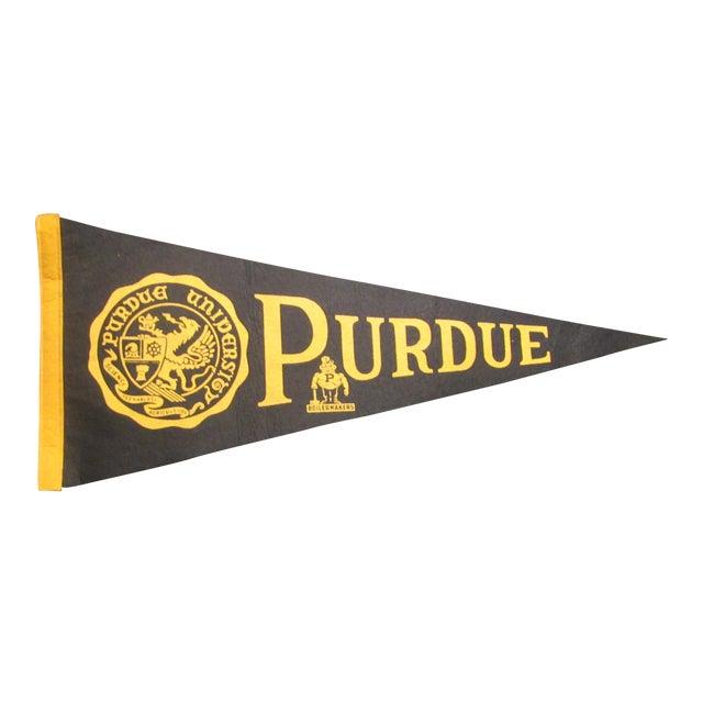 Vintage Purdue University Pennant - Image 1 of 9