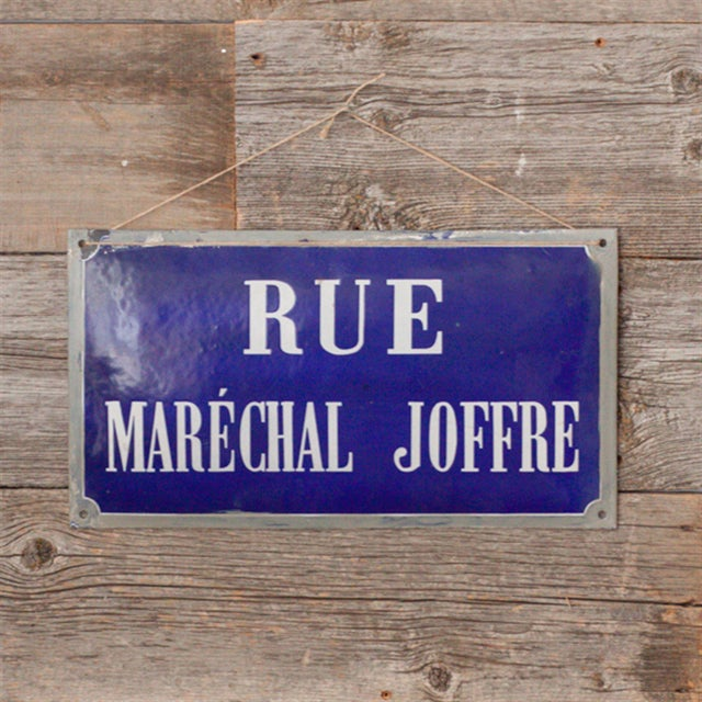 French Enamel Street Sign - Image 2 of 4
