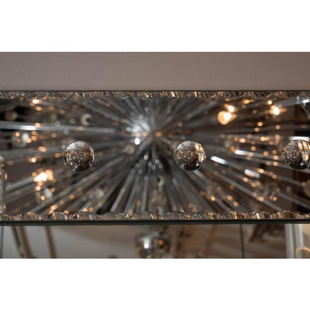 Modern Custom Pie Crust Mirror with Ponti's For Sale - Image 3 of 10