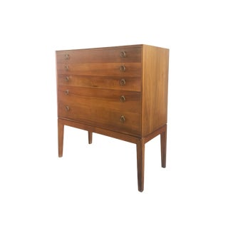 Midcentury Danish Chest of Drawers in the Style of Frits Henningsen For Sale