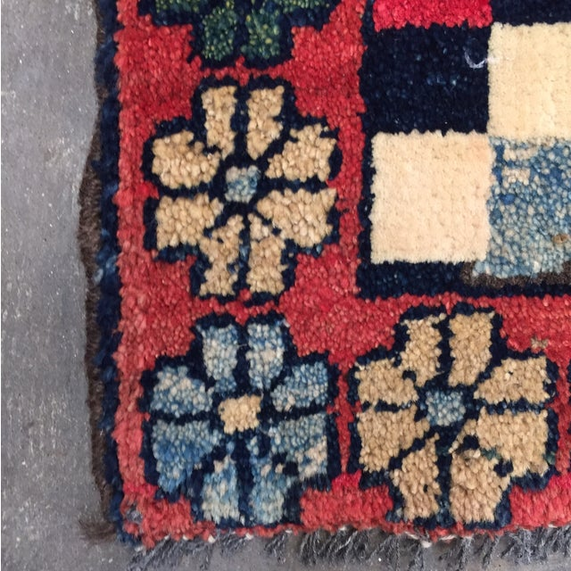 """Gabeh Hand Made Persian Rug - 1'9"""" x 2'5"""" - Image 9 of 10"""