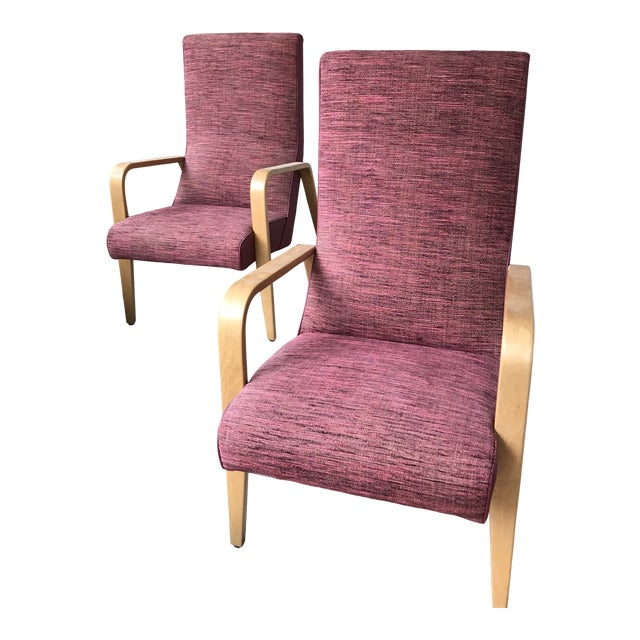 Surprising Mid Century Vintage Thonet Bentwood Arm Chairs A Pair Gmtry Best Dining Table And Chair Ideas Images Gmtryco