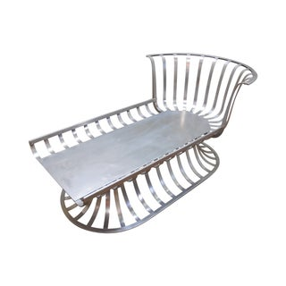 Mid Century Russell Woodard Aluminum Chaise Lounge