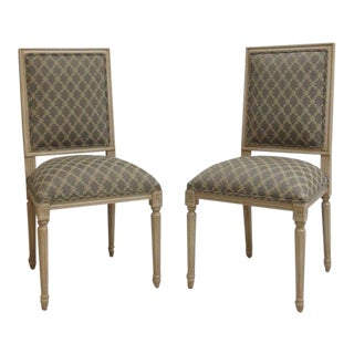 Ethan Allen Swedish Side Chairs - A Pair