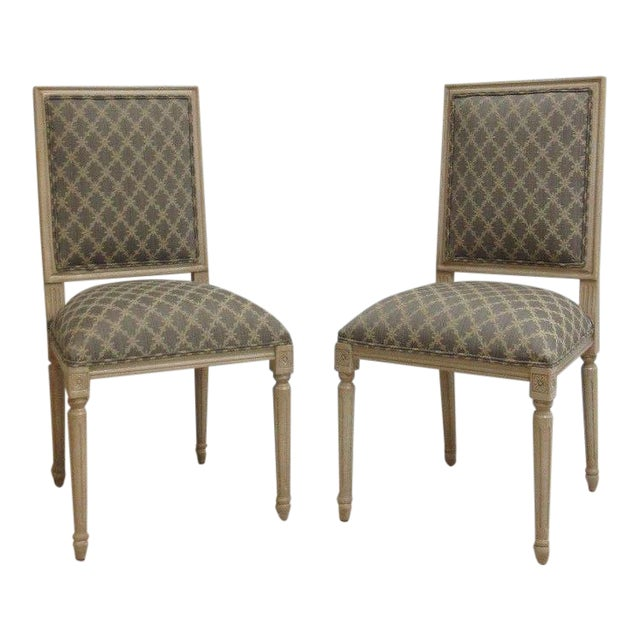Ethan Allen Swedish Side Chairs - A Pair For Sale
