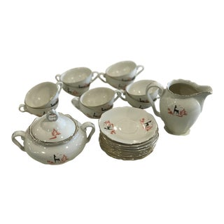 Haas & Czjzek Espresso Set - Set of 22 For Sale