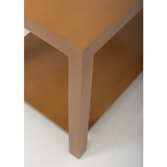 T.H. Robsjohn Gibbings Widdicomb Parsons End Tables - a Pair 1949 For Sale - Image 10 of 13