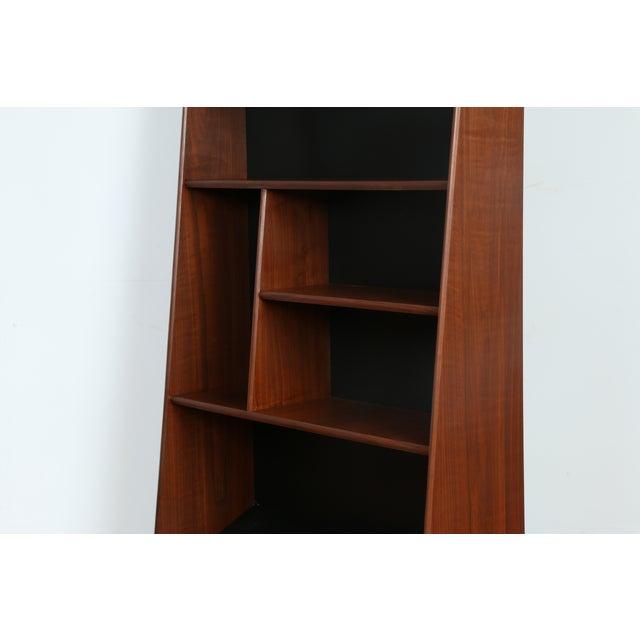 Vintage Asymmetrical Bookshelf - Image 4 of 9