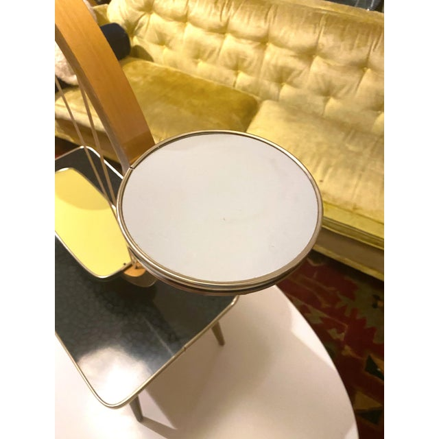 Authentic Mid-Century Modern German Three Tiered Plant Stand For Sale - Image 10 of 13