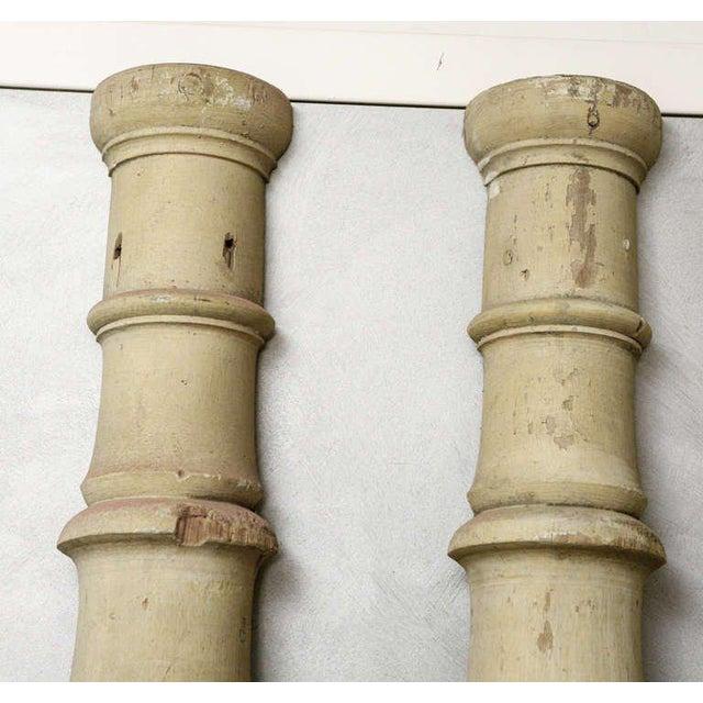 American Pr. American Facade Half Columns For Sale - Image 3 of 10