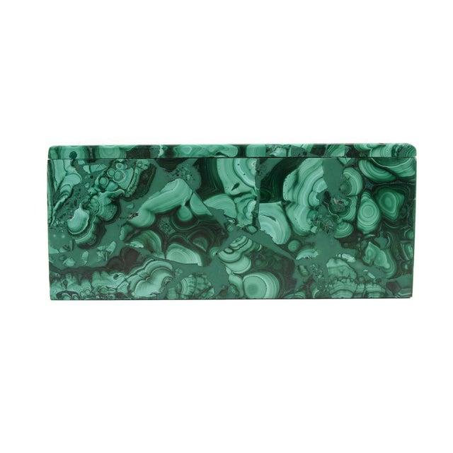 Malachite Antique Lidded Box - Image 6 of 9