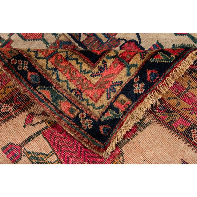 Traditional Mid-20th Century Vintage Persian Rug 4' 2'' X 6' 3''. For Sale - Image 3 of 12