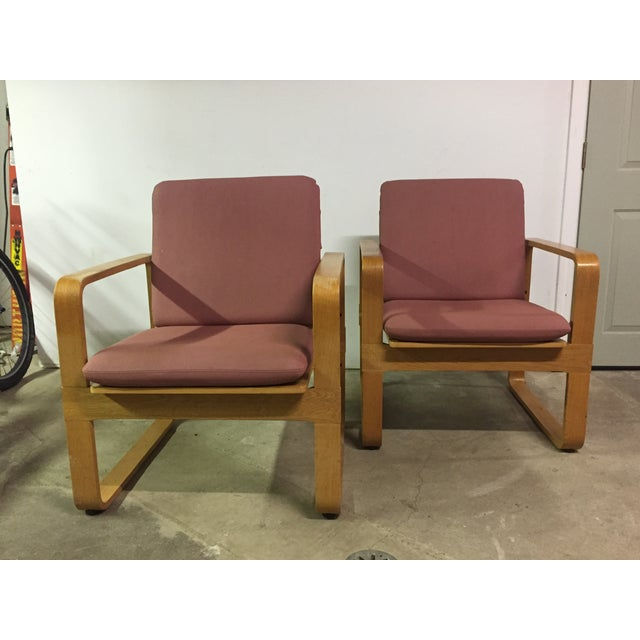 Modern Bentwood Club Chairs - A Pair - Image 5 of 5