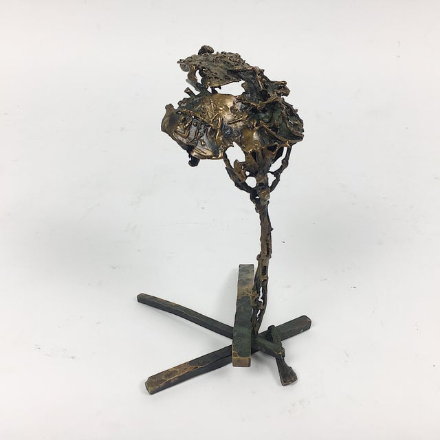 Los Angeles based artist Ben Kupferman, known mainly for jewelry, also had created a number of one-off bronze sculptures...