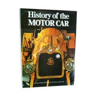 History of the Motor Car Vintage Book For Sale