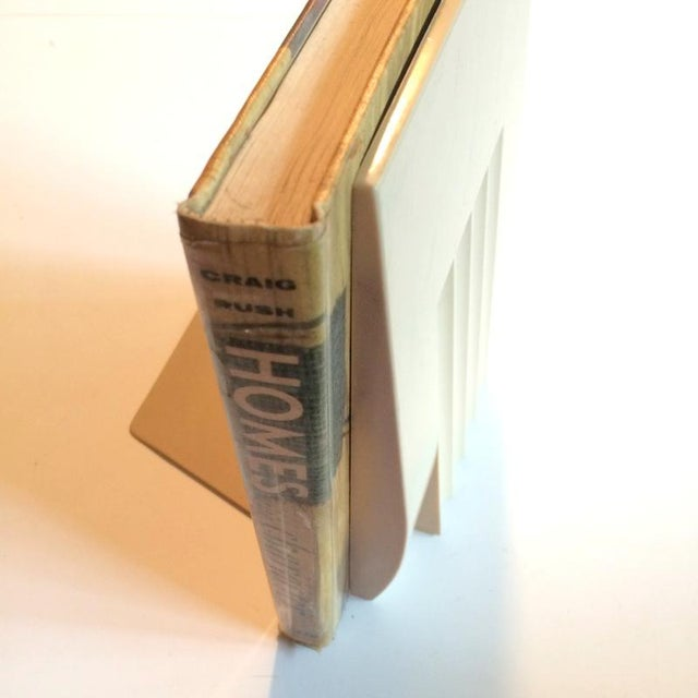 1960s Mid-Century Sculpted Plastic Bookend For Sale - Image 4 of 5